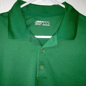 Nike Golf FitDry XL Polo Mens Shirt Green (B3-16)